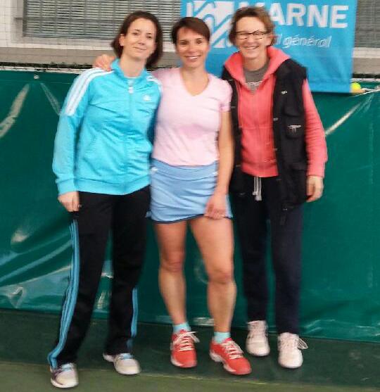 Equipe 1 - Triplette dames Tennis Club de Thiais